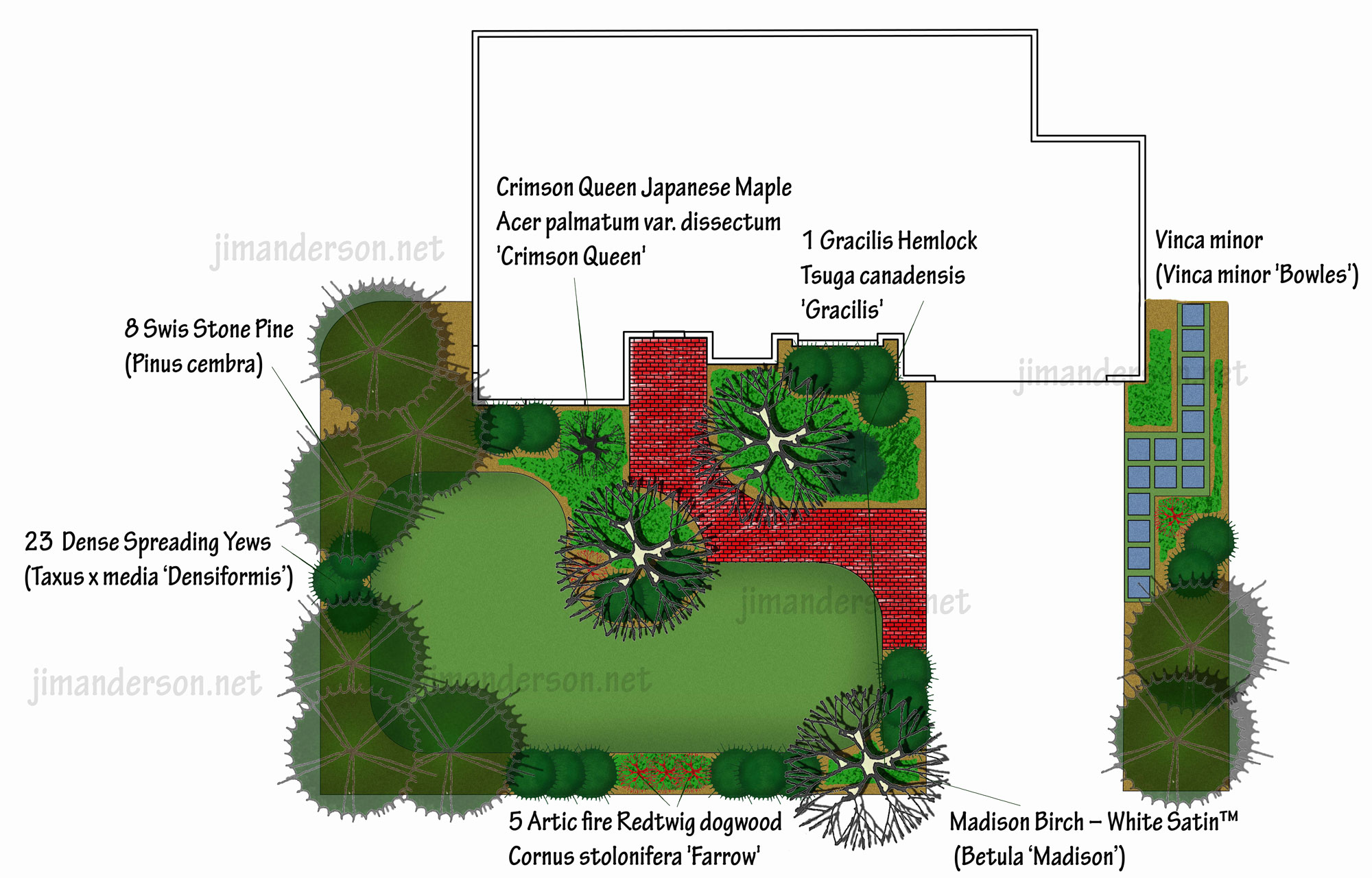 Front yard design for winter interest part 2 of 2 for Design your front garden