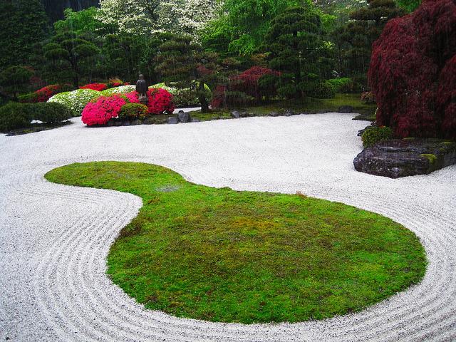Dry Japanese garden