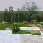 Small backyard Japanese garden design Part 4