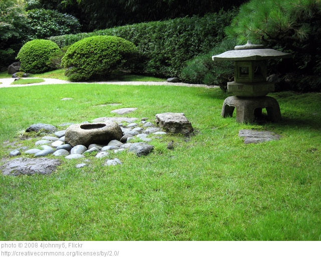 First step to starting your Japanese garden landscape