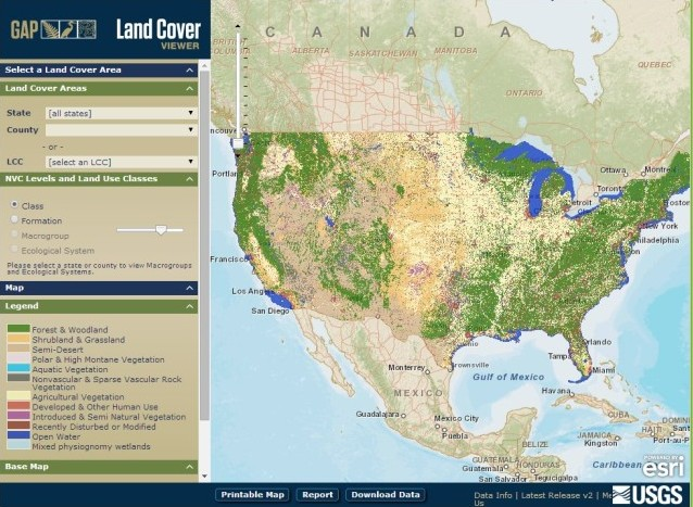 Land Cover Viewer Instructions
