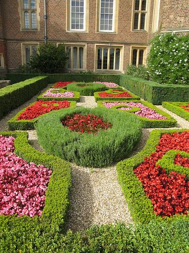 formal garden photo