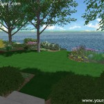 Backyard Landscape design finished