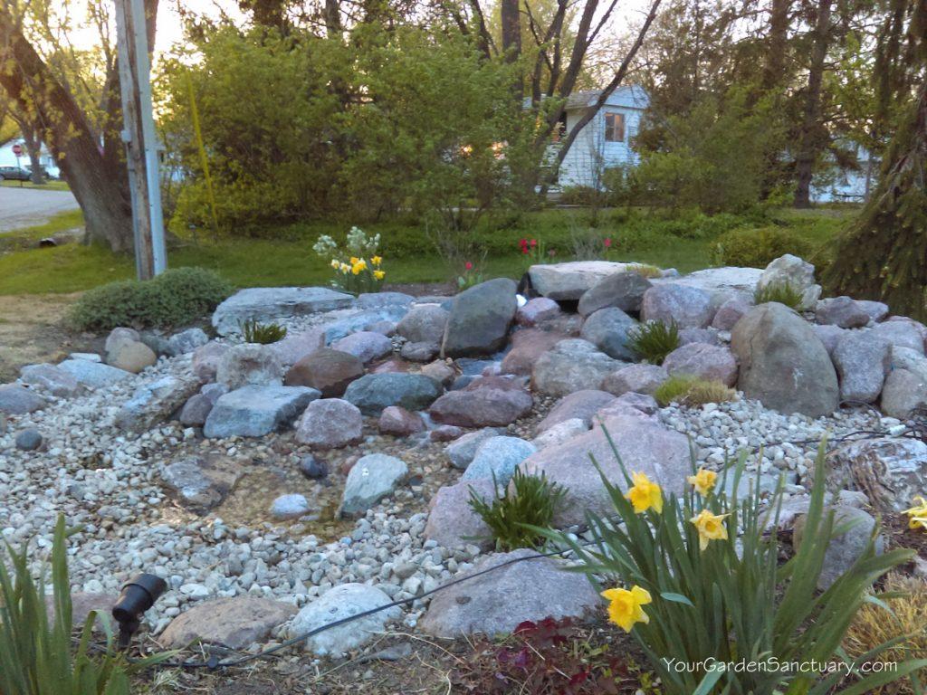 Pondless Waterfall Renovation done